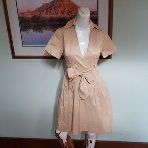Diane von Furstenberg faux wrap dress Size 0